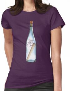 Gather them bottles! Womens Fitted T-Shirt