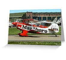 Pitts S-2A Special G-WREN Greeting Card