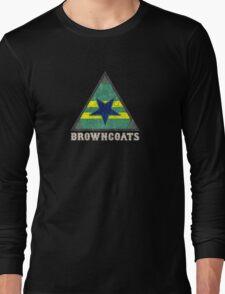 Firefly Browncoats crest grunge Long Sleeve T-Shirt