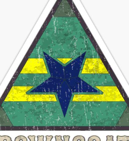 Firefly Browncoats crest grunge Sticker