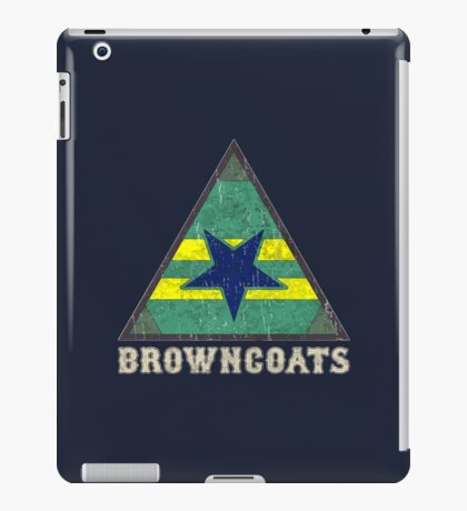 Firefly Browncoats crest grunge iPad Case/Skin