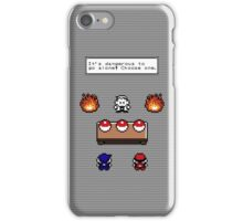 Dangerous to go alone choose a pokemon! iPhone Case/Skin
