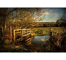 The Path to Sulham  Photographic Print