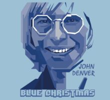 John Denver ~ Blue Christmas Kids Clothes