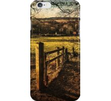 The Pang Valley from Sulham Woods iPhone Case/Skin