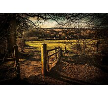 The Pang Valley from Sulham Woods Photographic Print