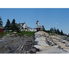 Pemaquid Point Light House Photographic Print
