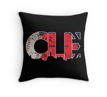 Cleveland, Ohio CLE Indians Shirts, Stickers, More Throw Pillow
