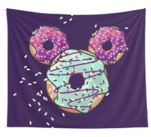 Pop Donut -  Berry Frosting Wall Tapestry
