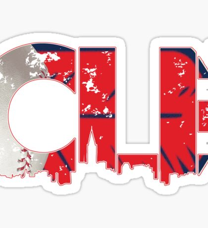 Cleveland, Ohio CLE Indians Shirts, Stickers, More Sticker