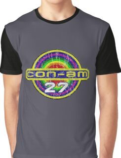Outland Con-Am 27 outpost crest grunge Graphic T-Shirt
