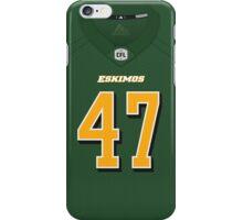 Edmonton Eskimos J. C. Sherritt Jersey Front Phone Case iPhone Case/Skin