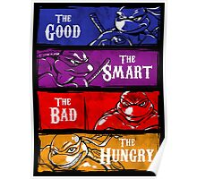 The Good, The Smart, The Bad, and The Hungry Poster