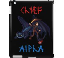 Chief and Alpha iPad Case/Skin