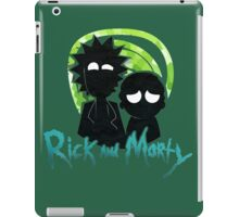 Rick And Morty Silhouatte iPad Case/Skin