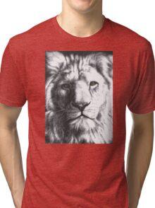 White Lion Tri-blend T-Shirt