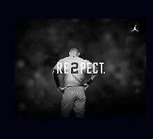 Derek Jeter Resp2ct by dfount7