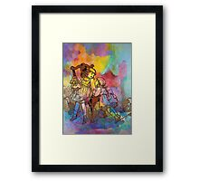 SISTER PLAY Framed Print