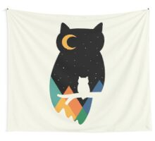 Eye On Owl Wall Tapestry
