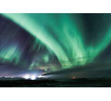 Hydro Aurora Borealis Photographic Print