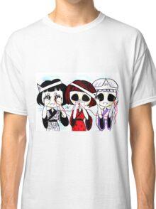 See no evil, speak no evil, hear no evil Classic T-Shirt