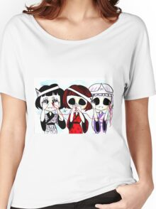 See no evil, speak no evil, hear no evil Women's Relaxed Fit T-Shirt
