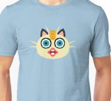 Pokemon, Derp Meowth Unisex T-Shirt
