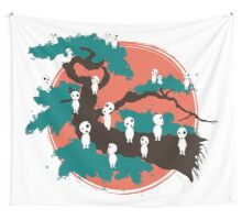 Spirits of the Trees Wall Tapestry