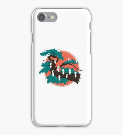 Spirits of the Trees iPhone Case/Skin