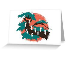 Spirits of the Trees Greeting Card