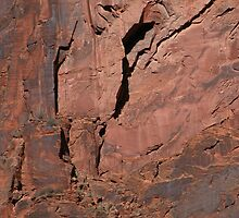 Red Rock Abstract by MarkArTurner
