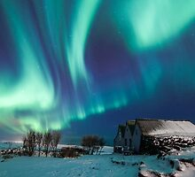 Aurora farm by Arnar Bergur Gudjonsson