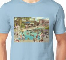 Art Déco Pool Unisex T-Shirt