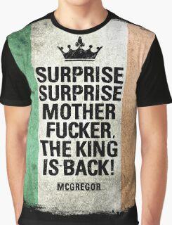 McGregor - Surprise Surprise - UFC202 Graphic T-Shirt