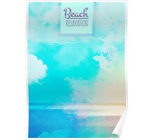 Beach relaxation Poster