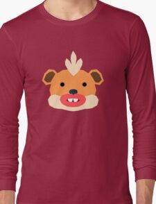 Pokemon, Spaced Growlithe Long Sleeve T-Shirt