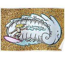 Summer Surfin' Poster