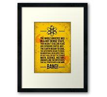 Big Bang! Framed Print