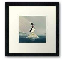 Lord Puffin Framed Print