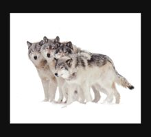 The Pack - Timber wolves One Piece - Long Sleeve