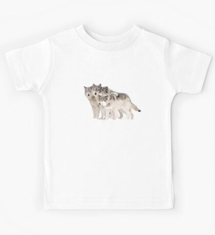The Pack - Timber wolves Kids Tee