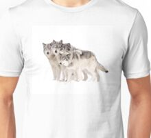 The Pack - Timber wolves Unisex T-Shirt