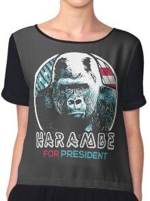 Harambe for President Chiffon Top