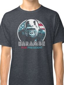 Harambe for President Classic T-Shirt