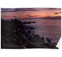 Tranquil dusk Poster