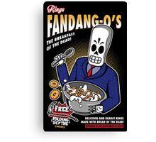 Rings Fandang-O's Cereals Canvas Print