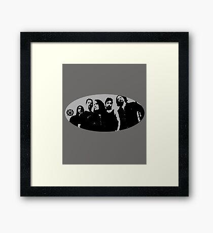 band 5 Framed Print