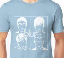 Blur (White) Unisex T-Shirt