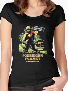 Forbidden Planet Women's Fitted Scoop T-Shirt