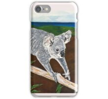 Koala - Tight rope walker iPhone Case/Skin